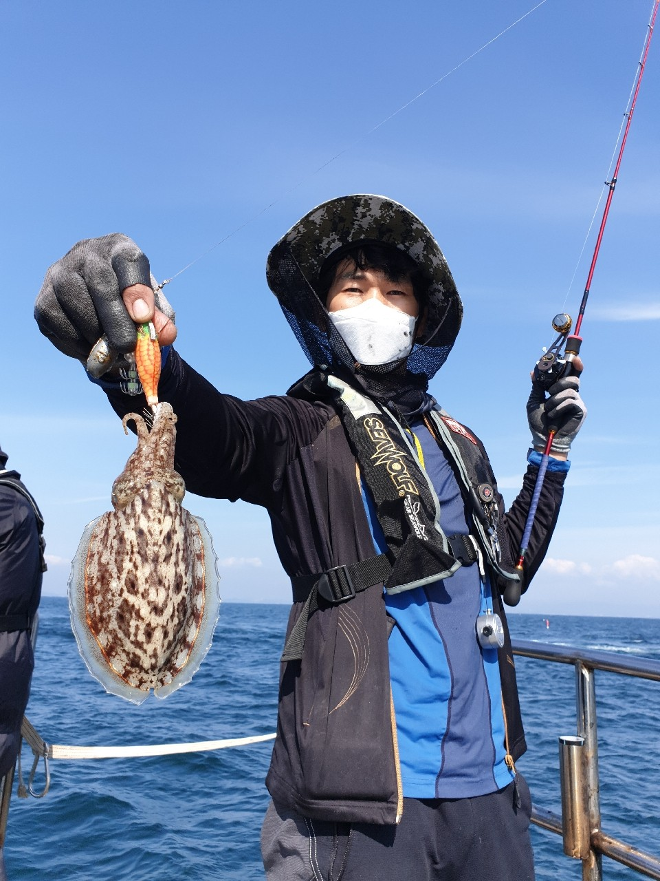 9월28일(월) 쭈+갑+꽃게 조황
